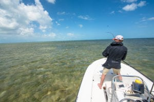 Flats fishing in the Florida Keys